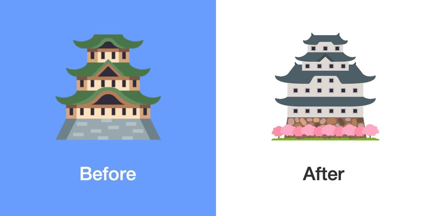 Emojipedia-Blog-EmojiOne-4.5-Changelog-Japanese-Castle