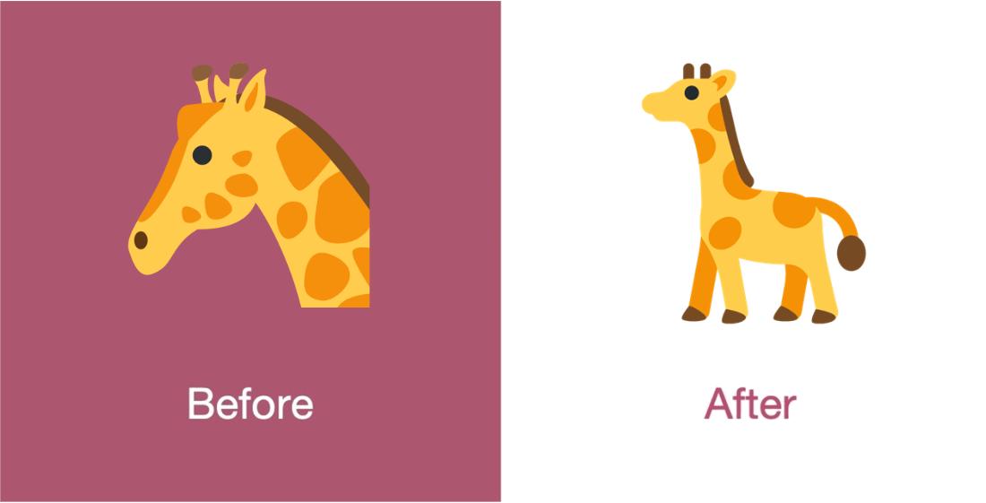 Emojipeida-Twemoji-11.3-Twitter-Emoji-Changelog-Giraffe-1
