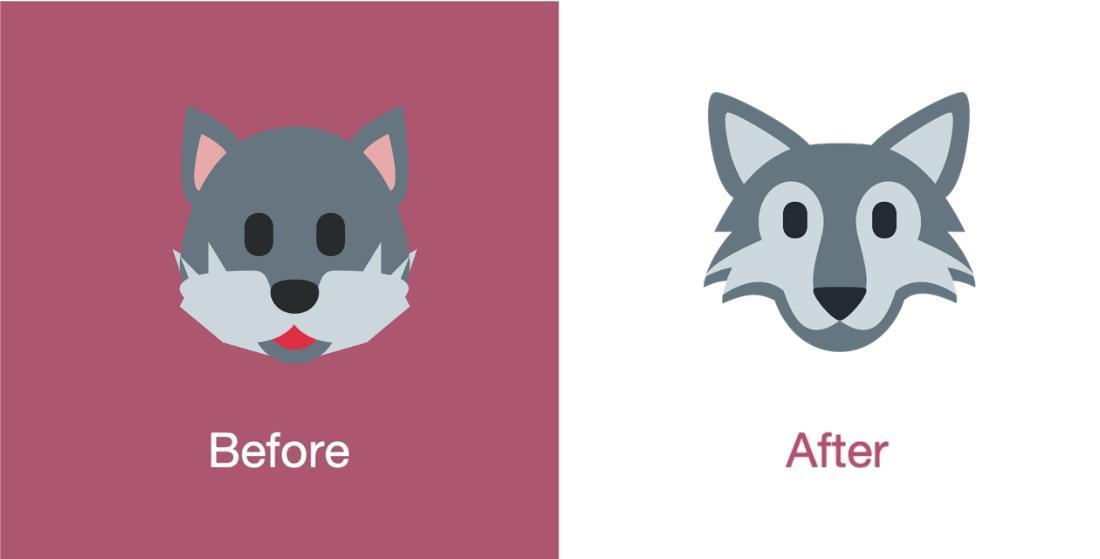 Emojipeida-Twemoji-11.3-Twitter-Emoji-Changelog-Wolf-Face-1