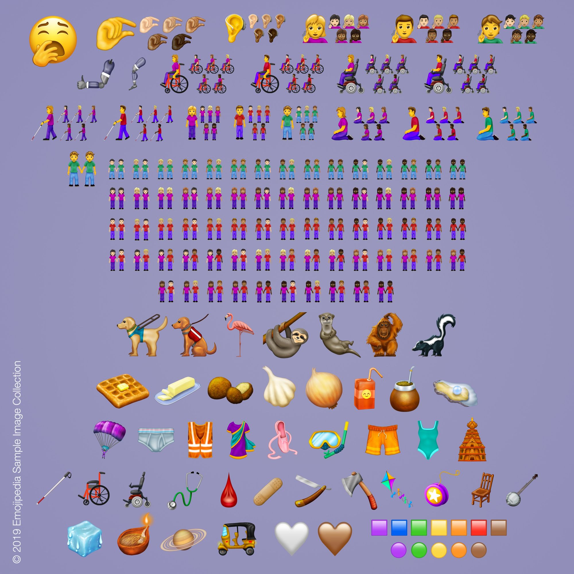 New Emojis 2019 230 New Emojis in Final List for 2019