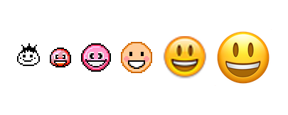 Image result for emoji evolution