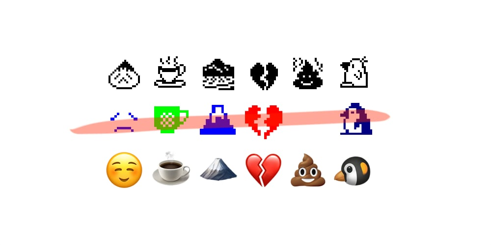 Correcting the Record on the First Emoji Set