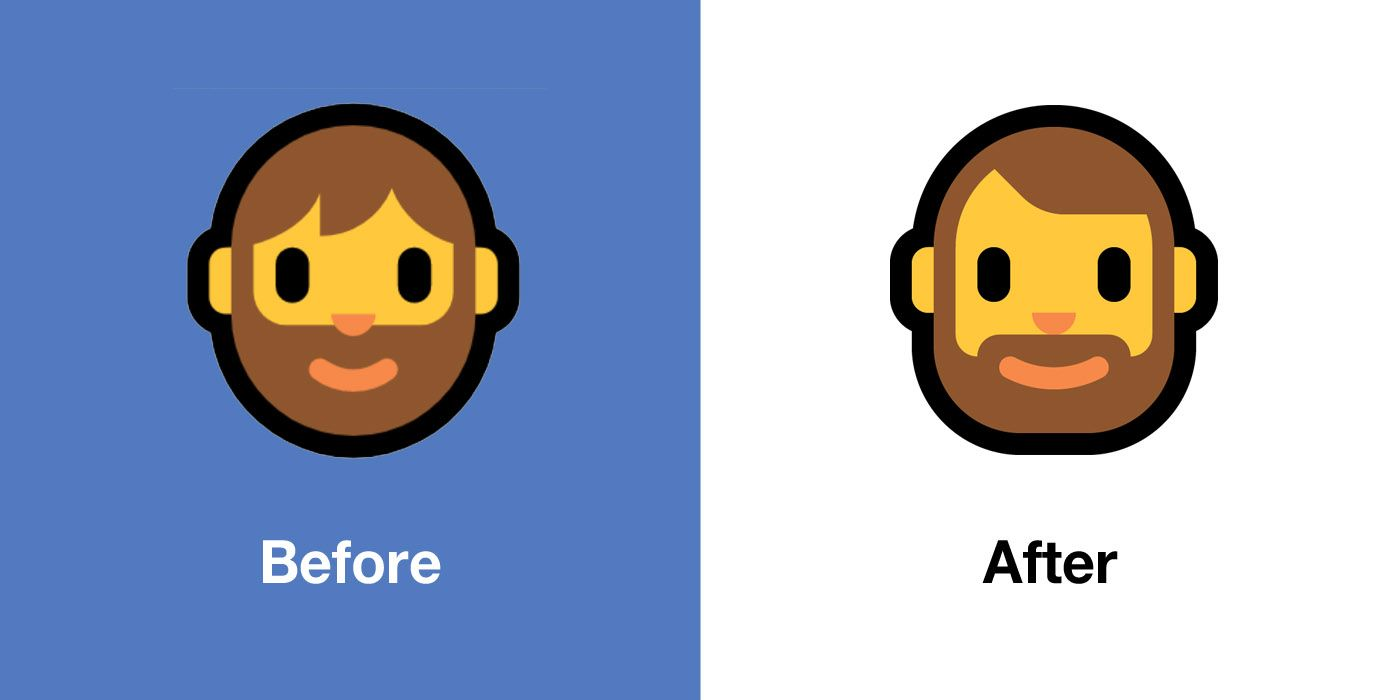 Emojipedia-Windows-10-May-2019-Emoji-Changelog-Comparison-Bearded-Person
