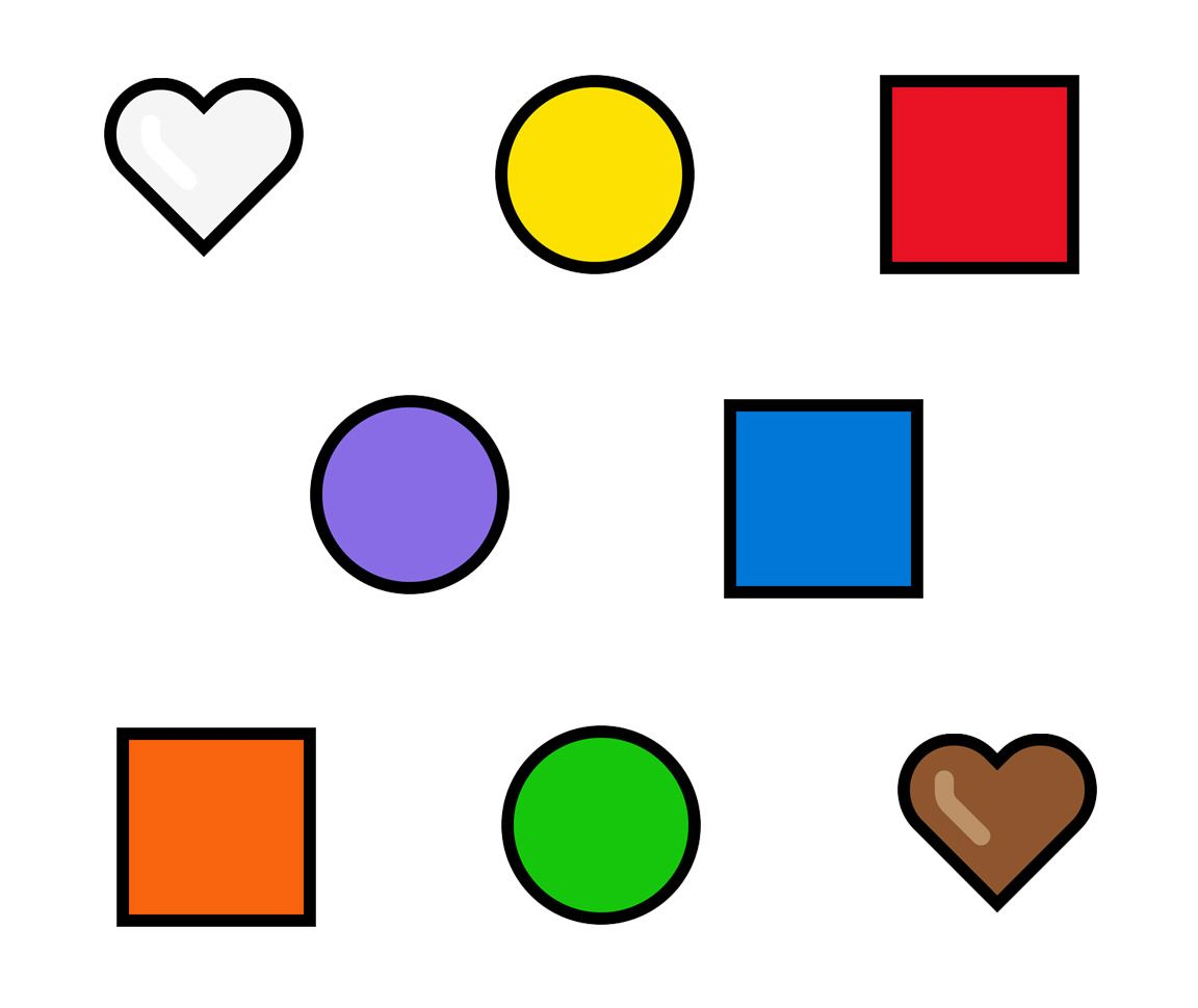 Emojipedia-Windows-10-May-2019-Emoji-Changelog-Colorful-Hearts-and-Shapes-2