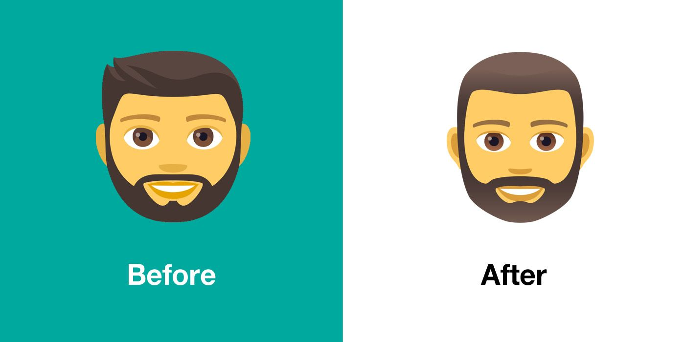 Emojipedia-JoyPixels-5.0-Emoji-Changelog-Bearded-Man-Comparison