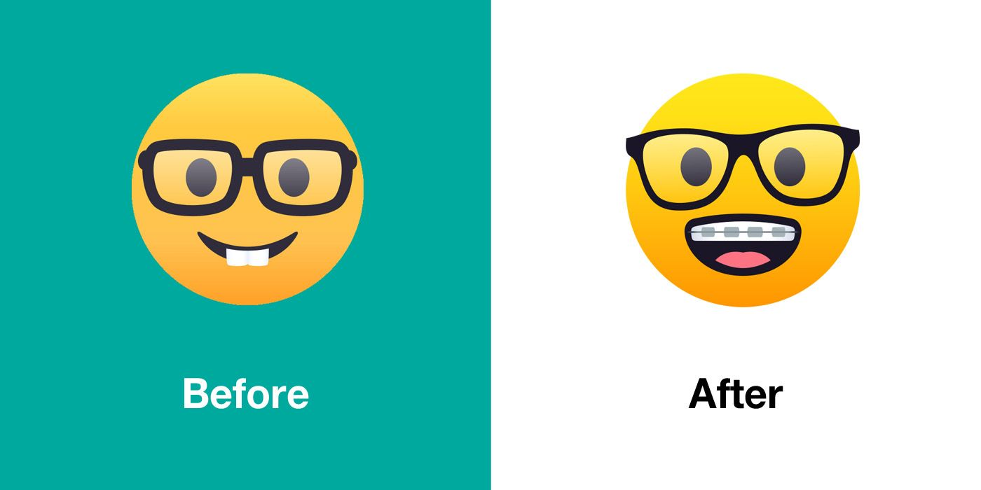 Emojipedia-JoyPixels-5.0-Emoji-Changelog-Nerd-Face-Comparison