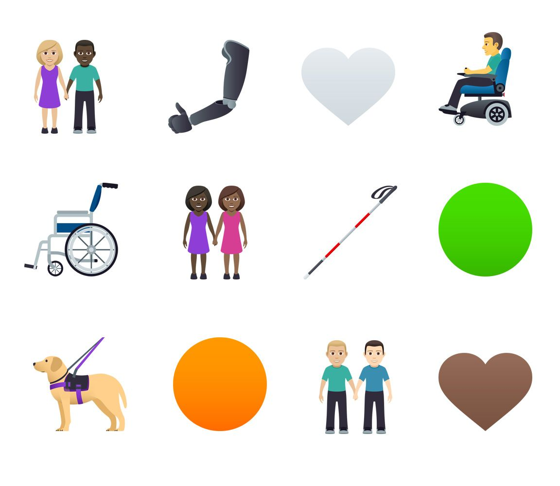Emojipedia-JoyPixels-5.0-Emoji-Changelog-Selection-Emoji-12-Designs-Accessibility-Shapes-Hand-Holding-Selection