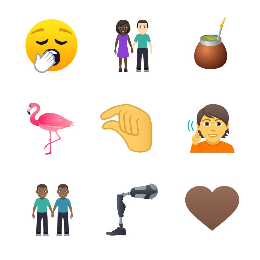 Emojipedia-JoyPixels-5.0-Emoji-Changelog-Selection-Emoji-12-Designs
