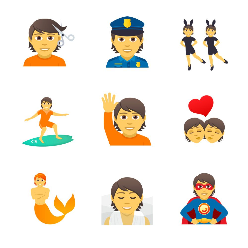 Emojipedia-JoyPixels-5.0-Emoji-Changelog-Selection-Gender-Neutral-Designs