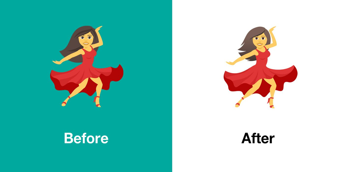 Emojipedia-JoyPixels-5.0-Emoji-Changelog-Woman-Dancing-Comparison