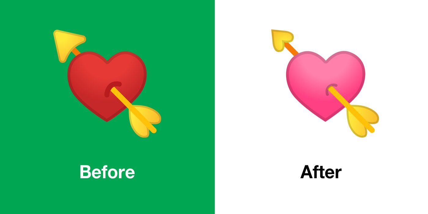 Emojipedia-Android-10.0-Emoji-Changelog-Comparison-Heart-With-Arrow