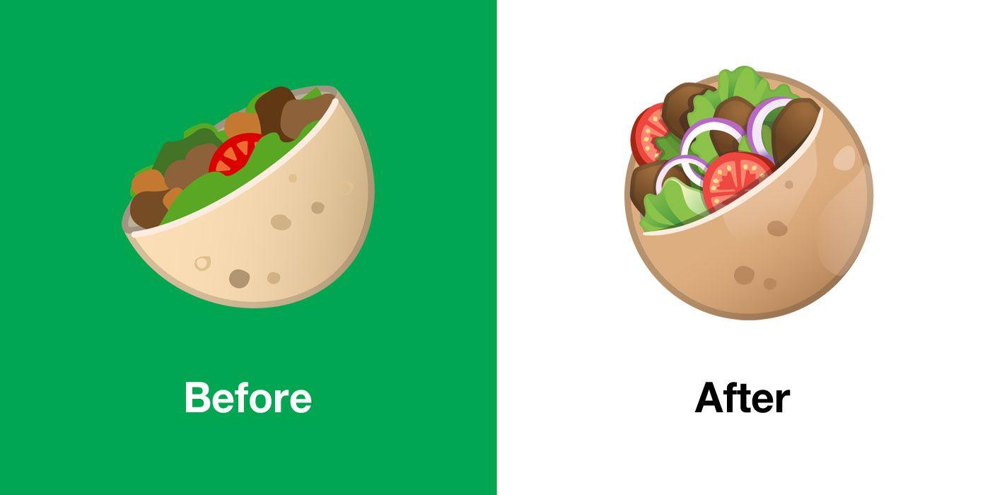 Emojipedia-Android-10.0-Emoji-Changelog-Comparison-Stuffed-Flatbread