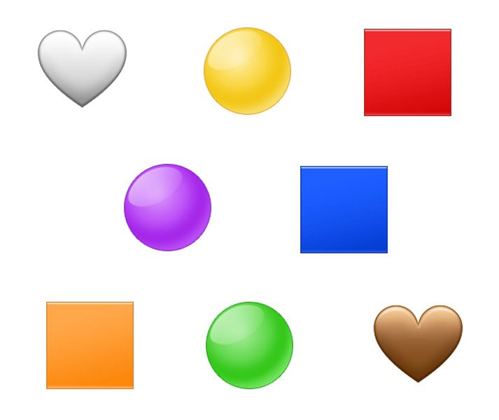 Emojipedia-Samsung-One-UI-1.5-Emoji-Changelog-Selection-Colored-Shapes