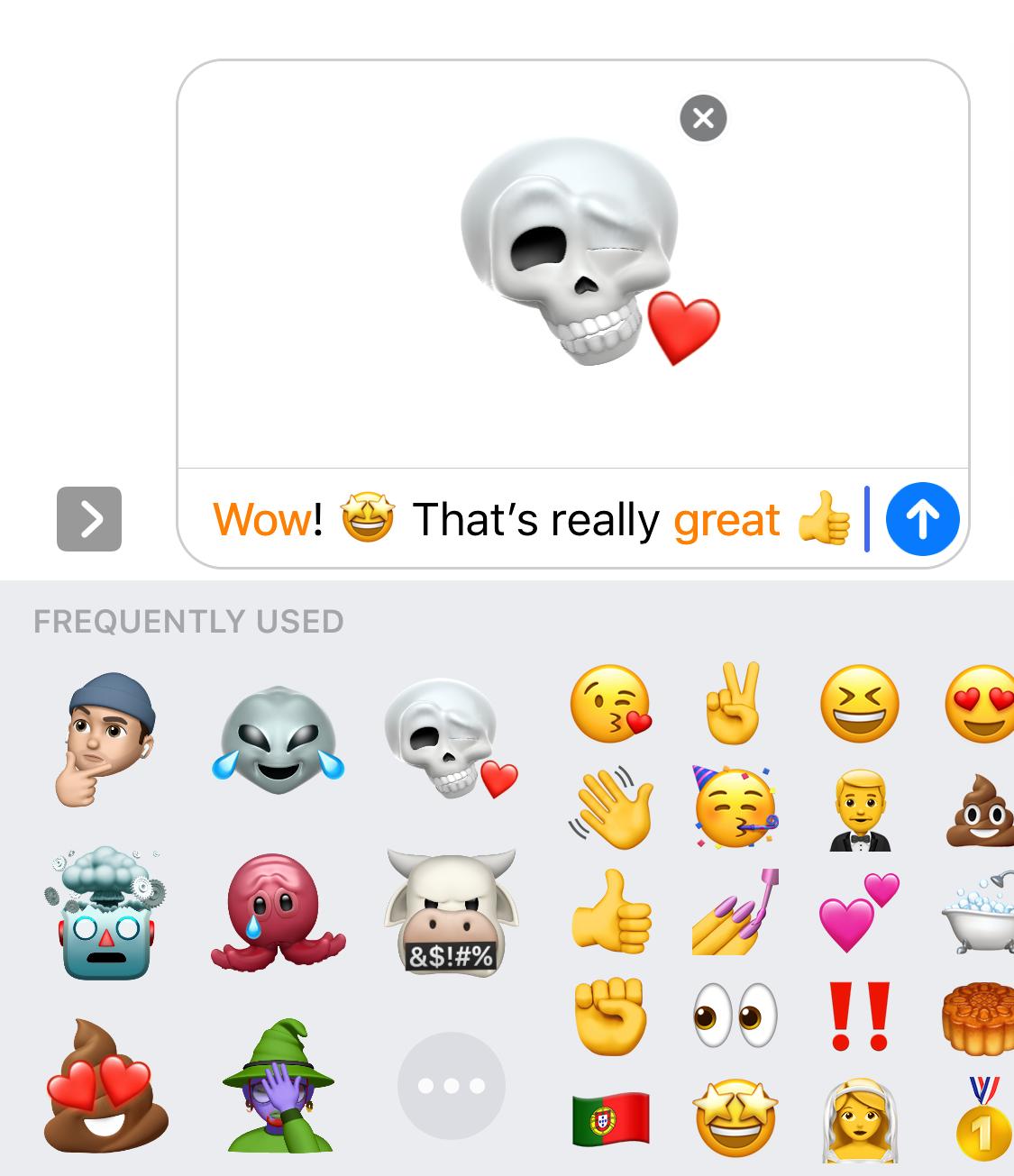 Ios 13 adds memoji to emoji keyboard