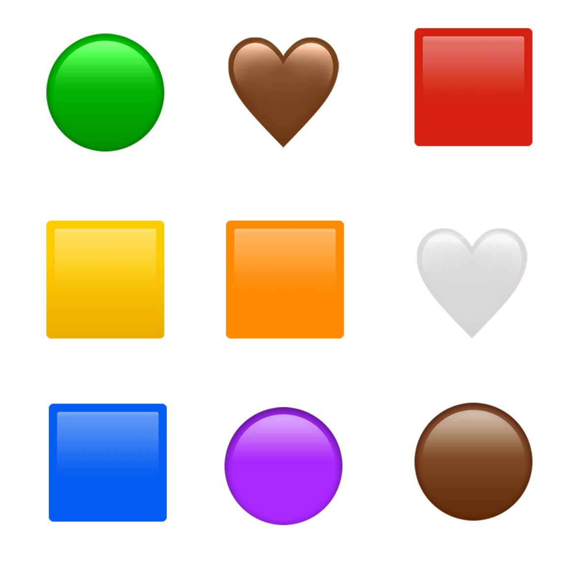 Emojipedia-Apple-iOS-13.2-Emoji-Changelog-Color-Shapes