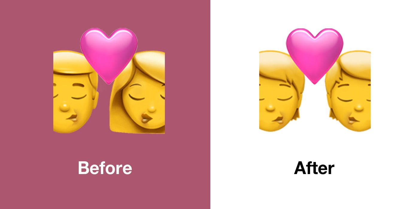 Emojipedia-Apple-iOS-13.2-Emoji-Changelog-Comparison-Kiss