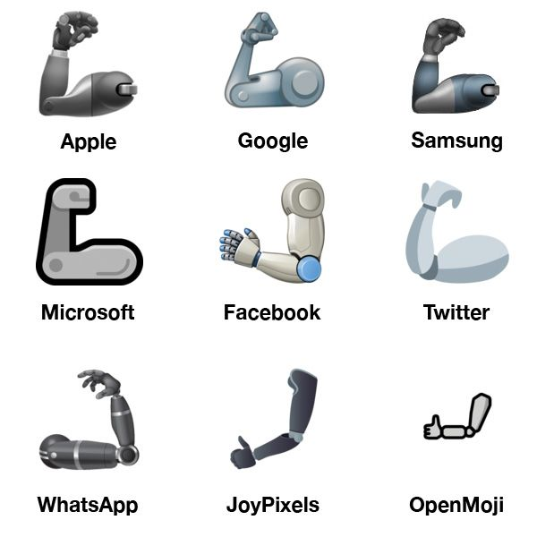 Emojipedia-2019-Emoji-Changelog-Mechanical-Arm-1