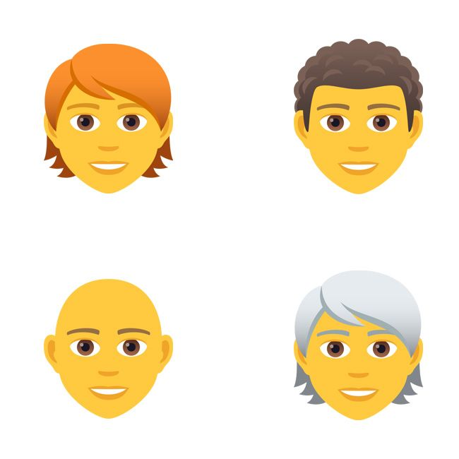 Emojipedia-JoyPixels-5.5-Gender-Neutral-Hair-Styles