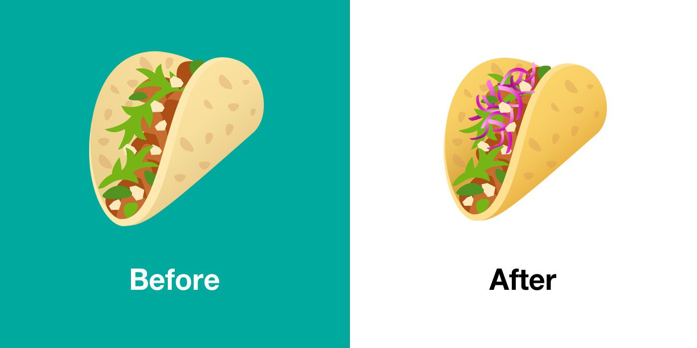 Emojipedia-JoyPixels-5.5-Taco-Comparison
