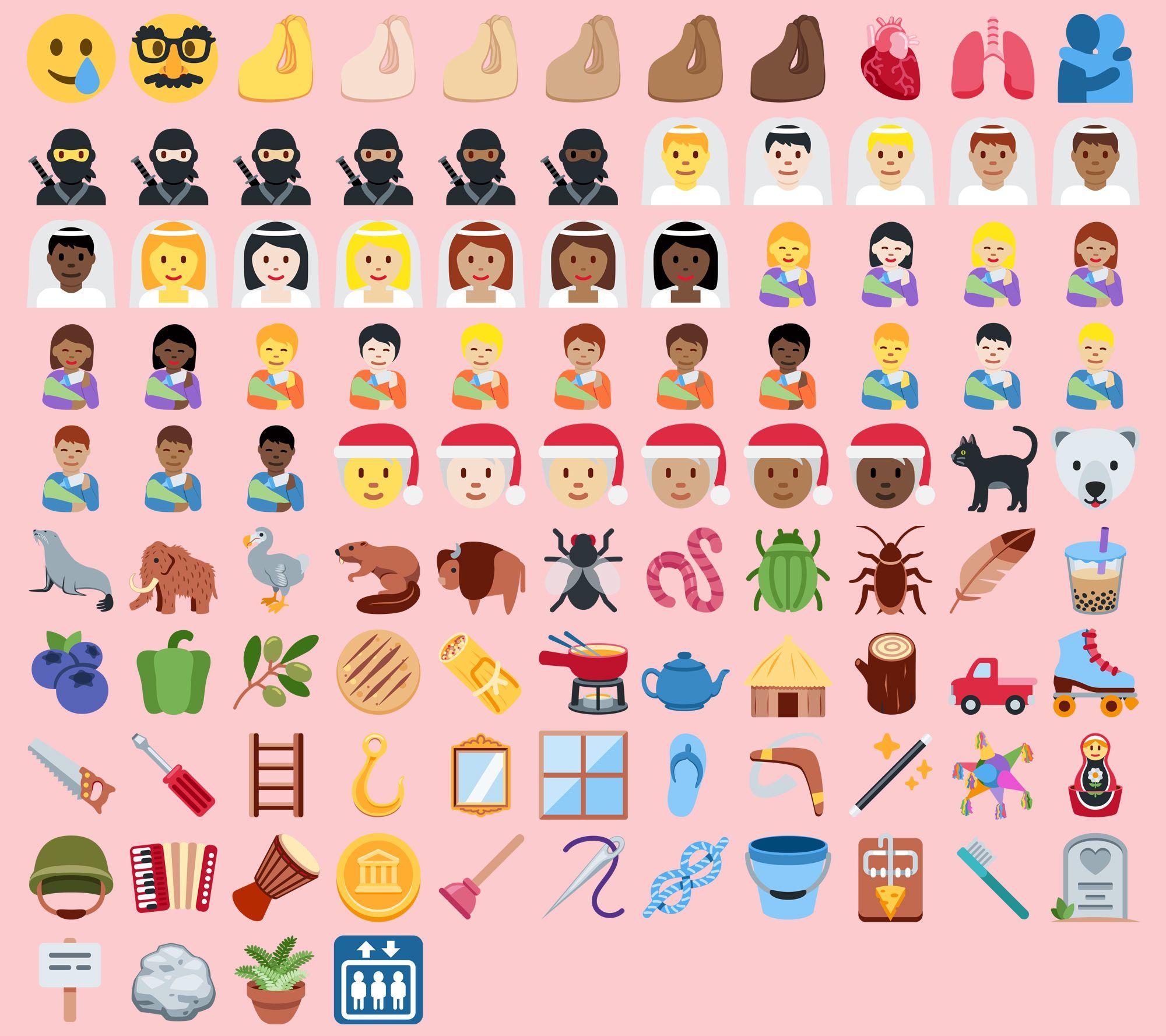 Twemoji 13.0 Emoji Changelog