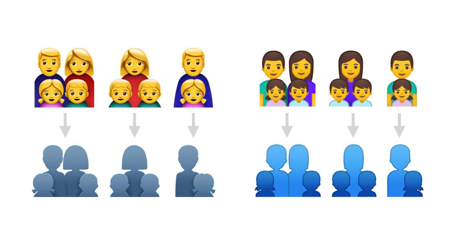 family-emoji-silhouette-mockup