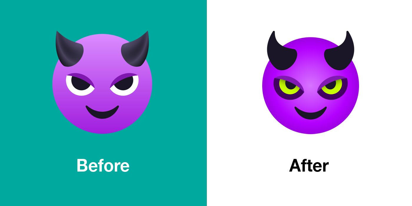 Emojipedia-JoyPixels-6.0-Comparison-Smiling-Face-with-Horns