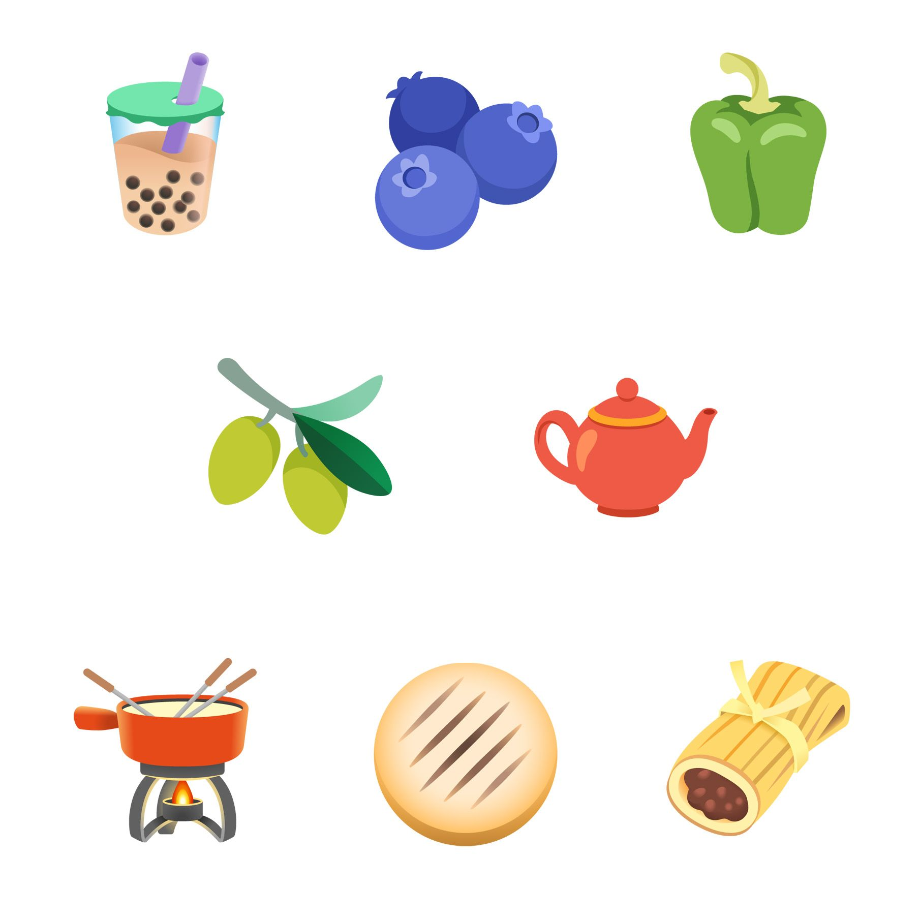 Emojipedia-Android-11_0-Food-and-Drink-Emojis