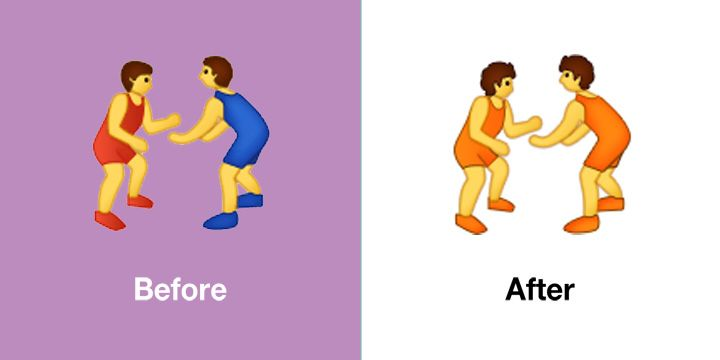 Emojipedia-Samsung-One-UI-2_5-Changed-Emojis-Wrestlers