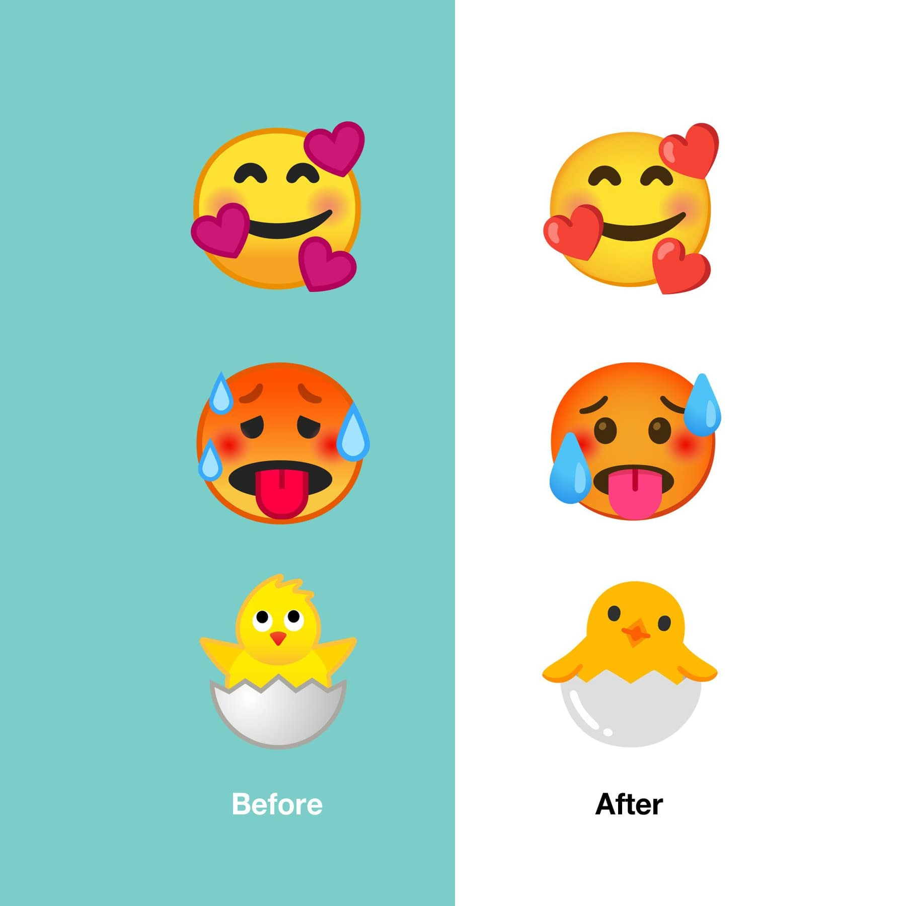 android-11-before-after-changes-examples-emojipedia