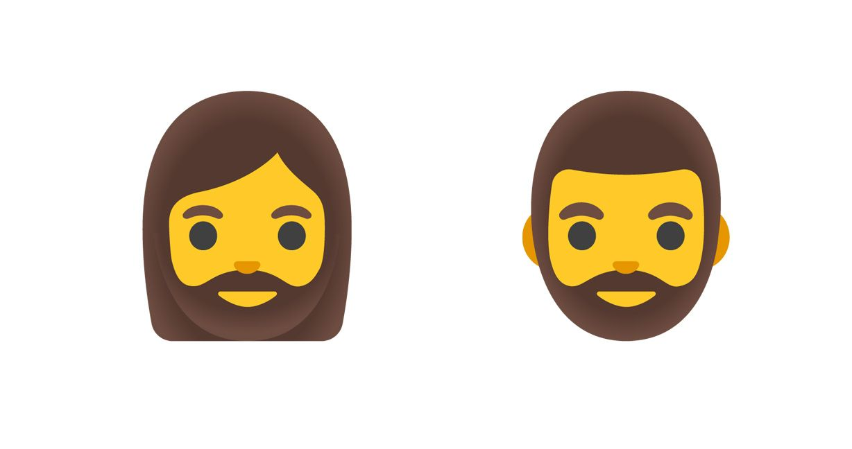 Emojipedia-Google-December-2020-Pixel-Feature-Drop-New-Man-Woman-Beard-Emojis