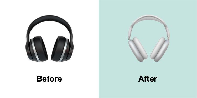 Emojipedia-Apple-iOS-14.5-Changelog-Comparison-Headphones-2