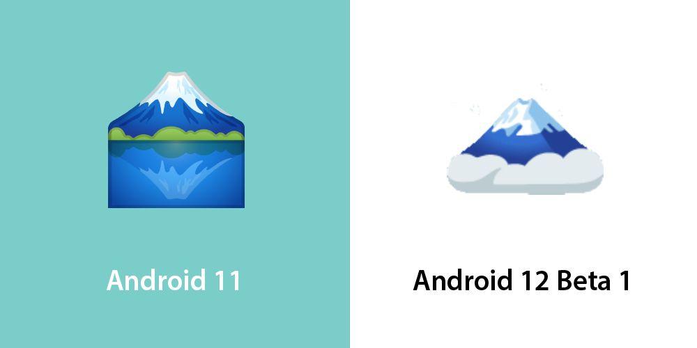 Emojipedia-Android-12_0-Beta-Changed-Emojis-Mount-Fuji-2