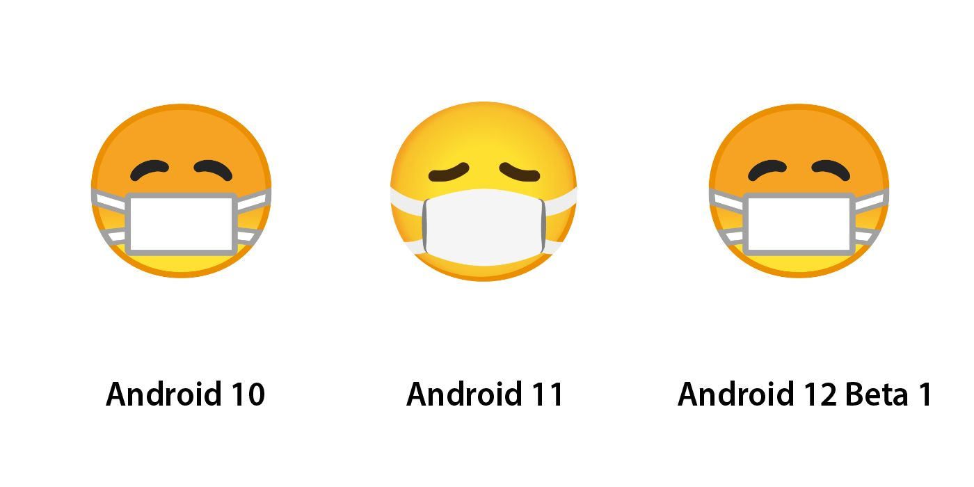 Emojipedia-Android-12_0-Face-With-Medical-Mask-Changes