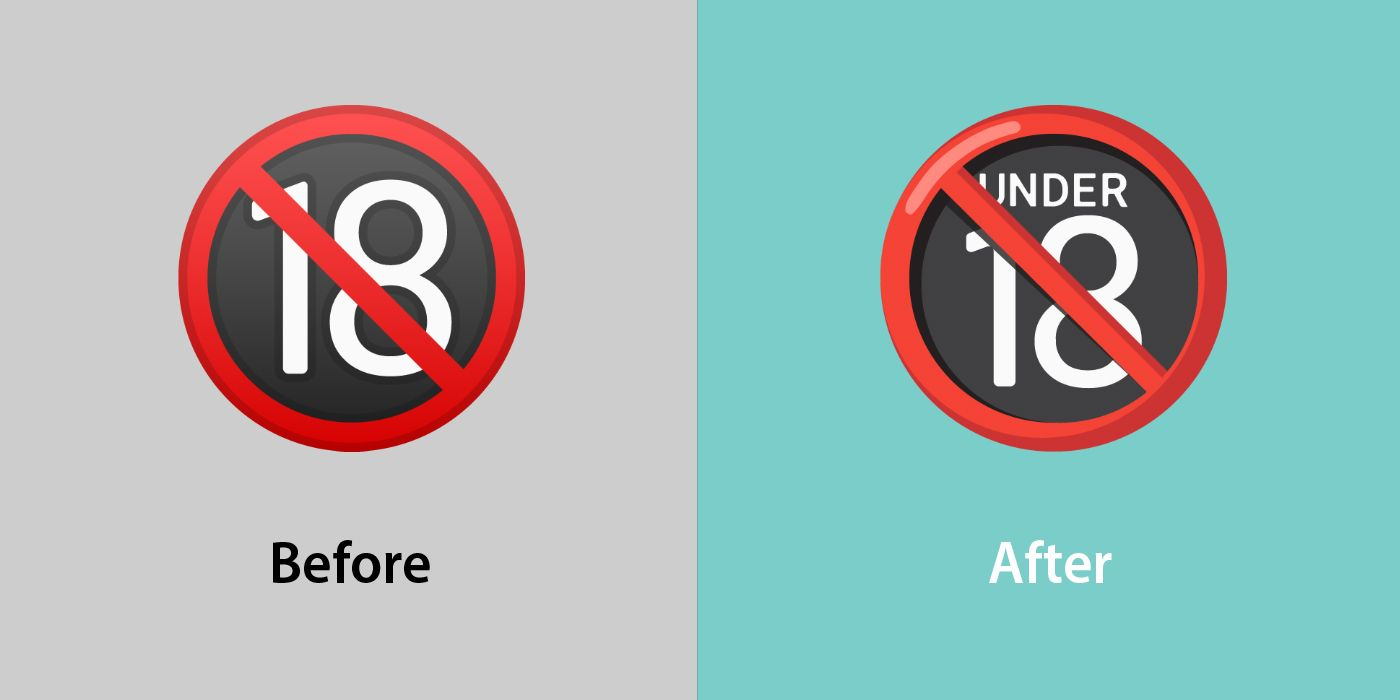 Emojipedia-Android-12_0-Changed-Emojis-Comparison-No-One-Under-Eighteen-Symbol