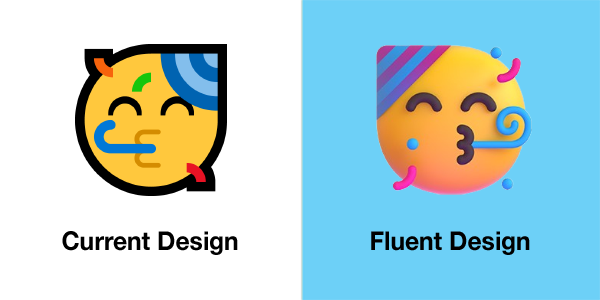 Emojipedia-Microsoft-July-2021-Comparison-Partying-Face