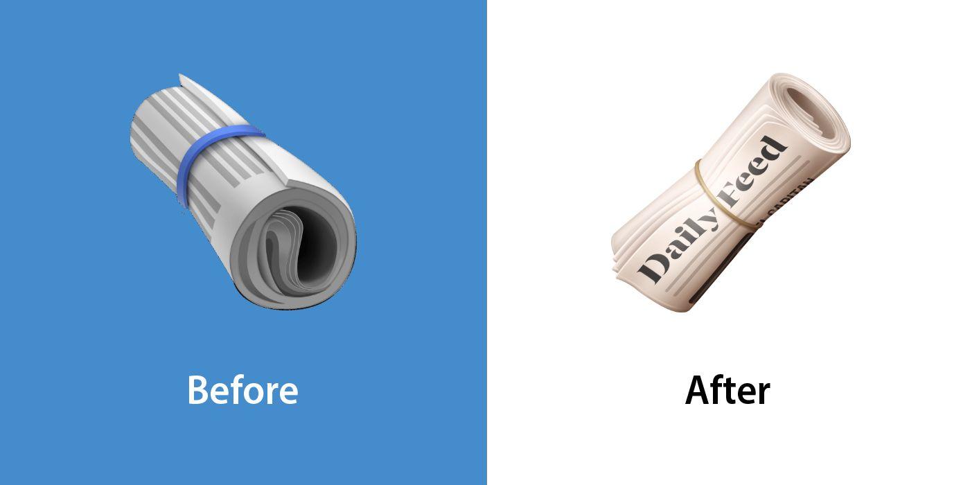 Emojipedia-Facebook-Changelog-Comparison-13_1-Rolled-Up-Newspaper