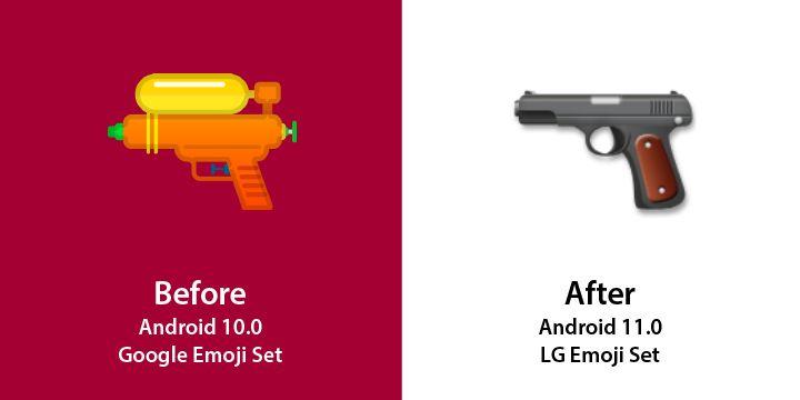 Emojipedia-LG-Changelog-Comparison-LG-Velvet-Pistol
