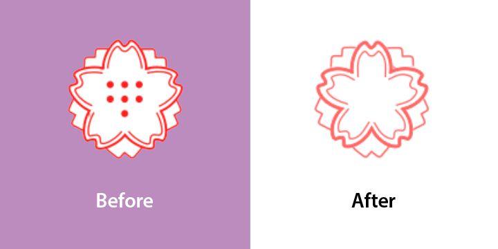 Emojipedia-Samsung-Changelog-Comparison-One-UI-3_1_1-White-Flower