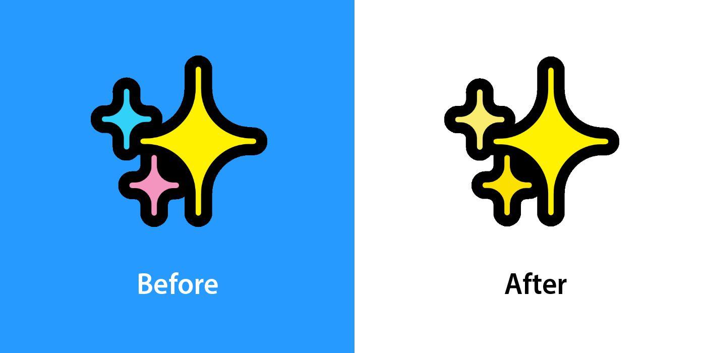 Emojipedia-Windows-11-Changelog-Comparison-Sparkles