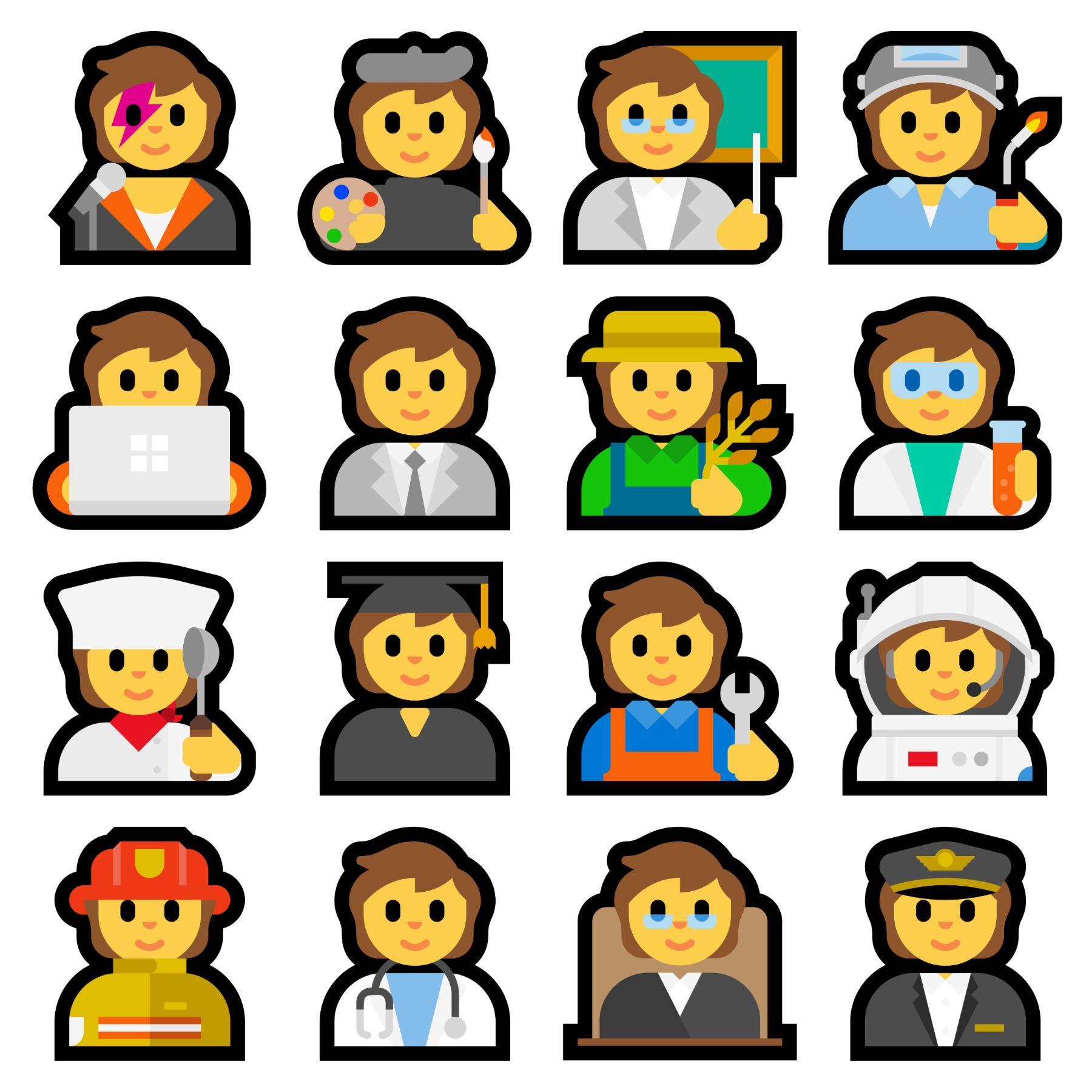 Emojipedia-Windows-11-New-Profession-Emojis