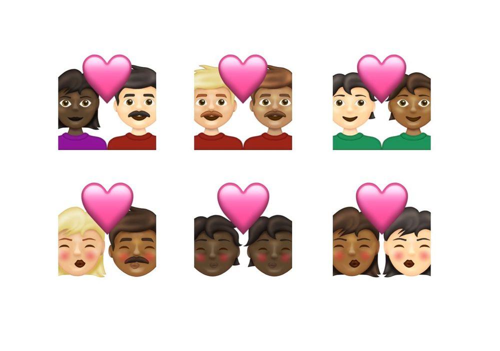 Emoji più inclusive