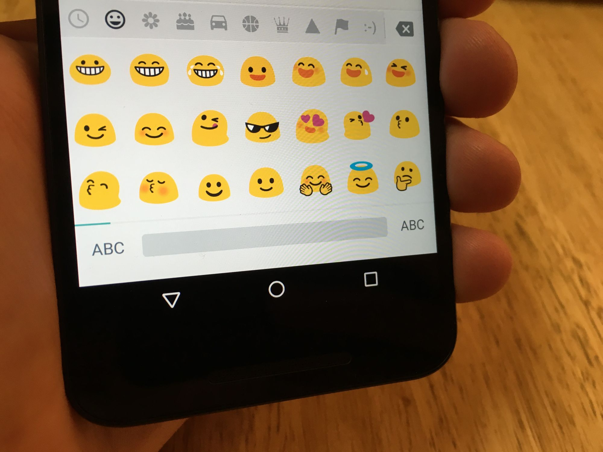 Android 6.0.1 Emoji Changelog