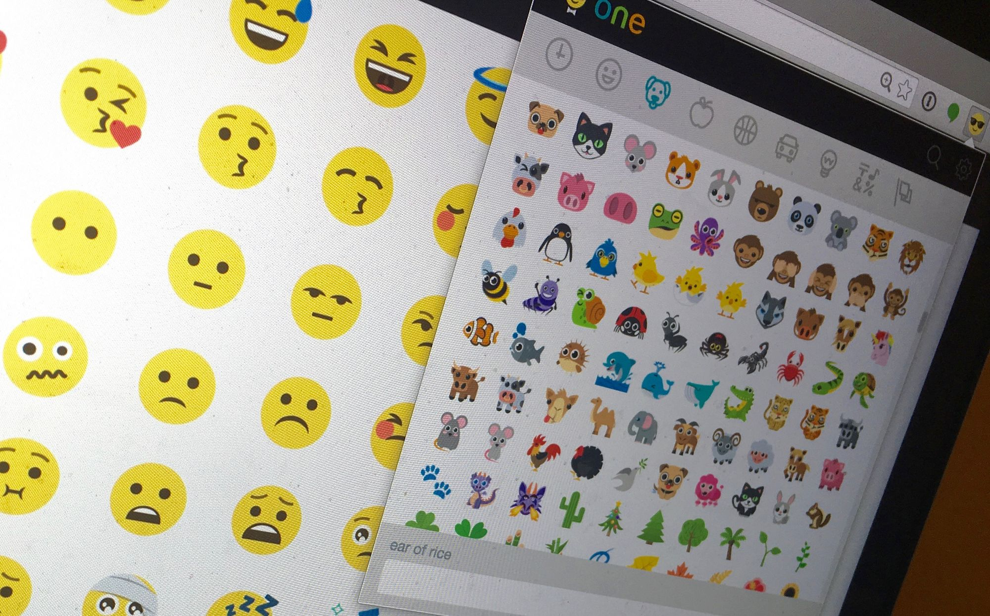 Emoji One for Chrome released