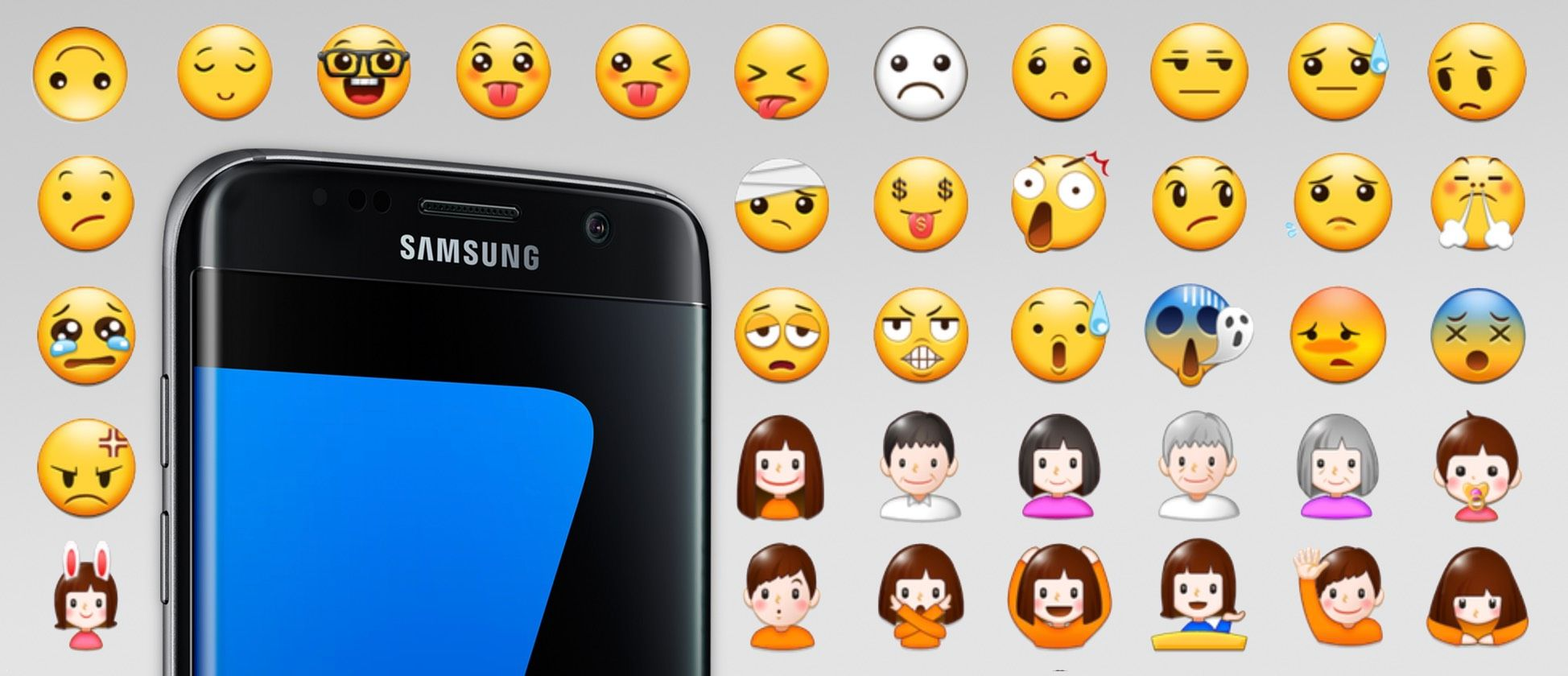 Samsung Galaxy S7 Emoji Changelog