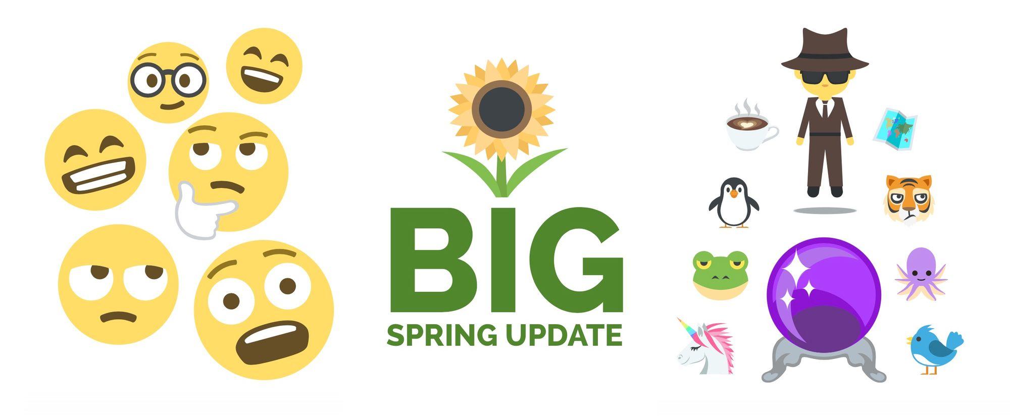 Emoji One Releases Big Spring Update