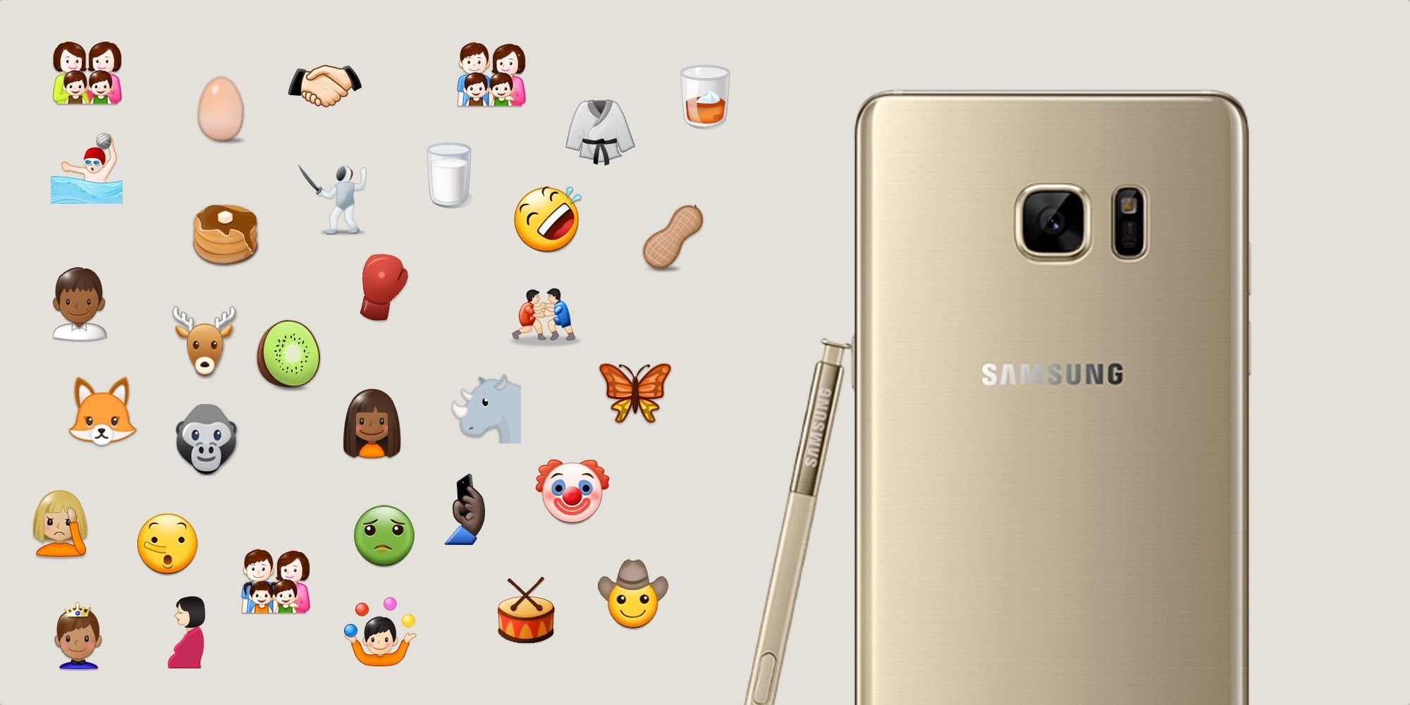 Samsung's Biggest Ever Emoji Update