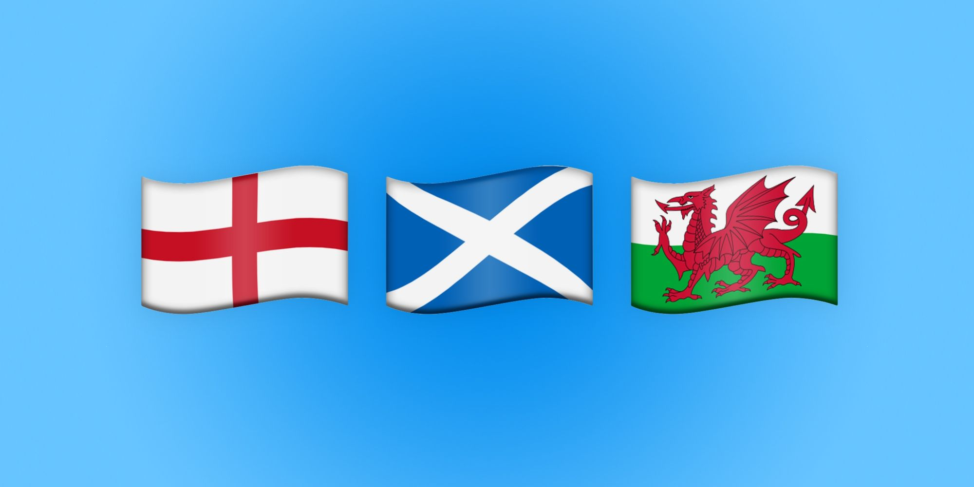 Emoji Flags Approved For England, Scotland, Wales