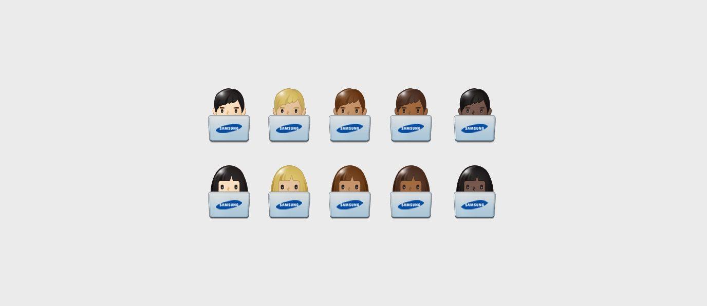 Samsung Galaxy S8 Emoji Changelog