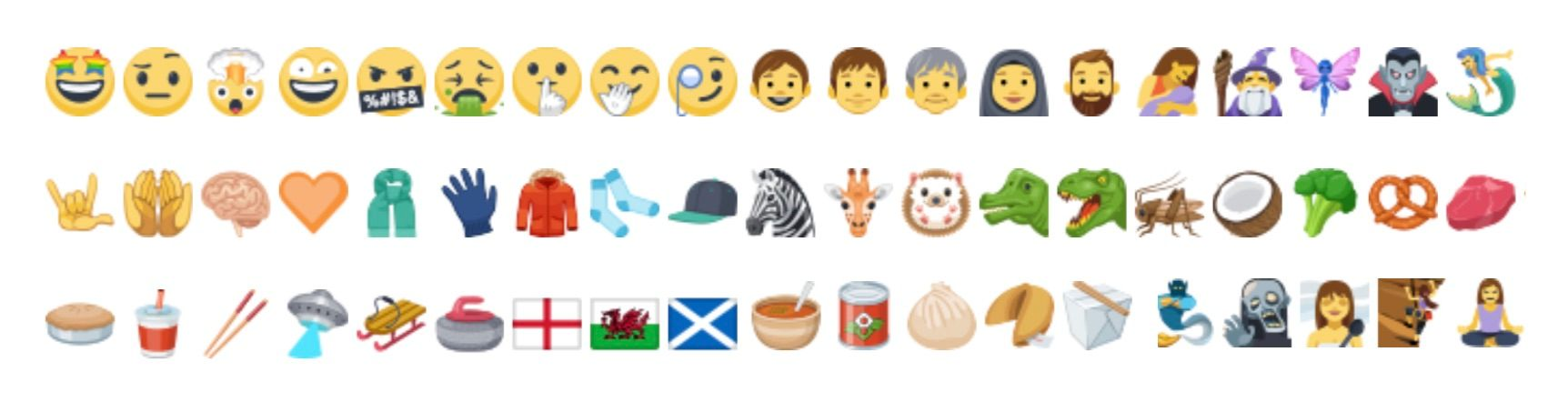 New Emojis Now Showing On Facebook