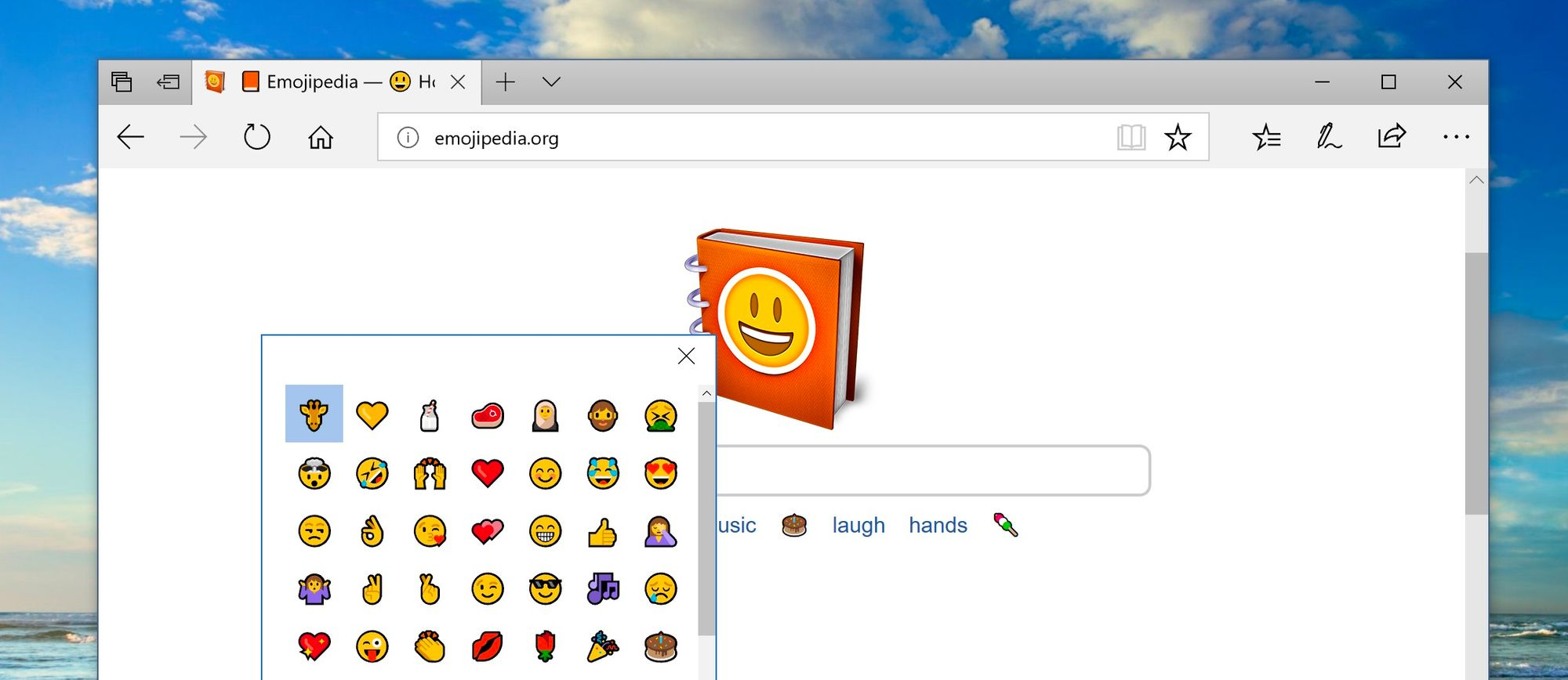 How To Use The New Windows Emoji Picker